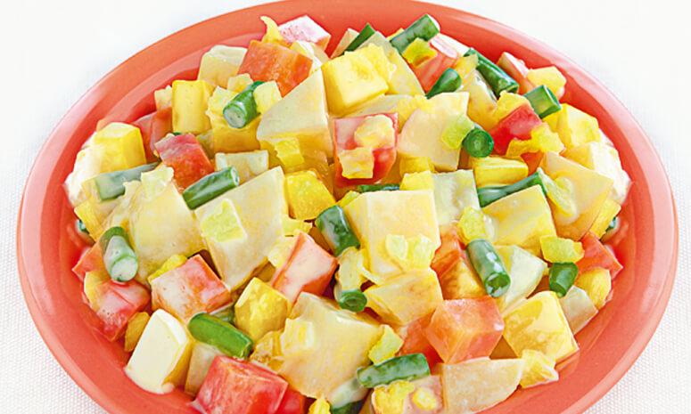 Pineapple Potato Salad Recipe