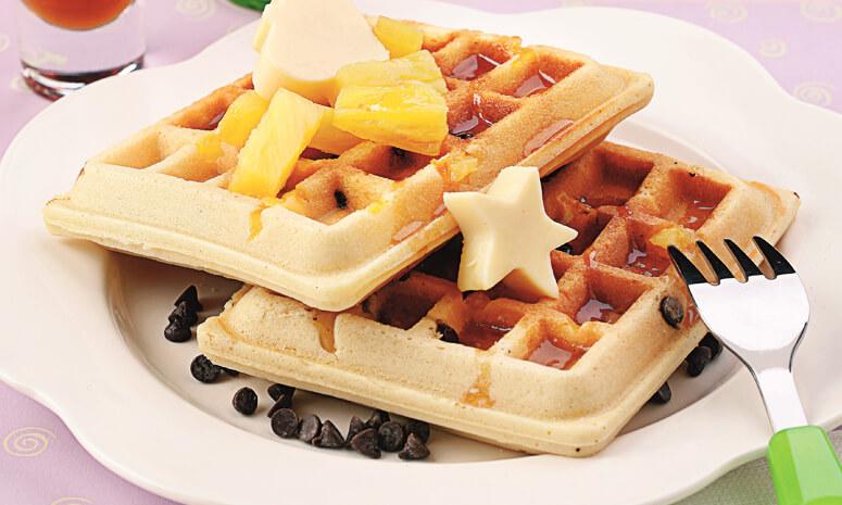 Pineapple Waffle Recipe