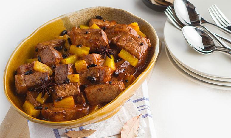 Pork Humba with Pine Recipe