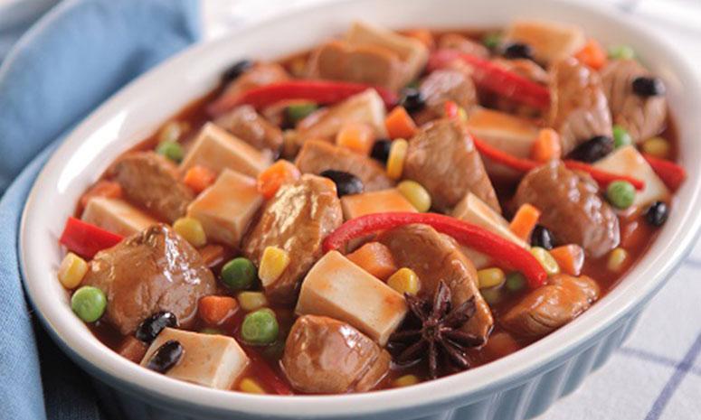 Pork Tofu Stir-Fry Recipe