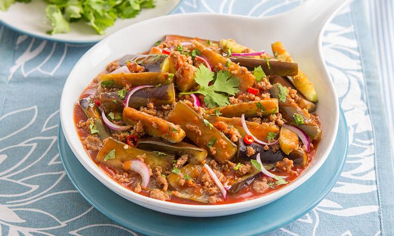 Pork and Eggplant Sauté Recipe