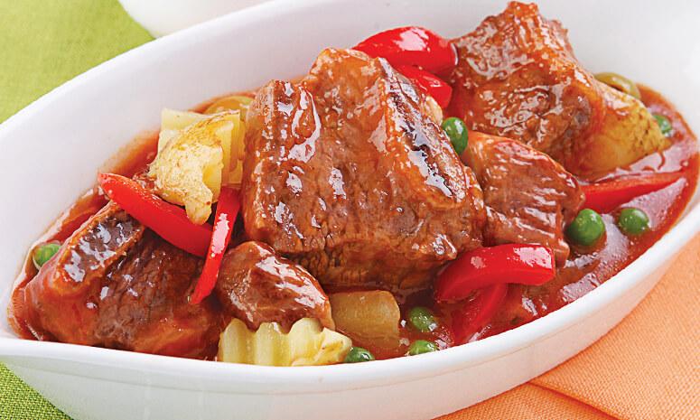 QNE Beef Caldereta Recipe