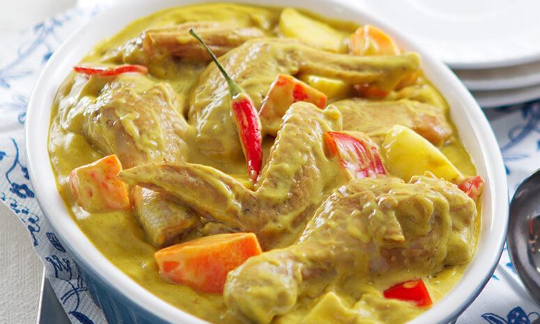 QNE Chicken Curry Recipe