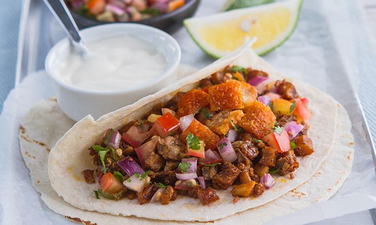 Red Sisig Taco Recipe