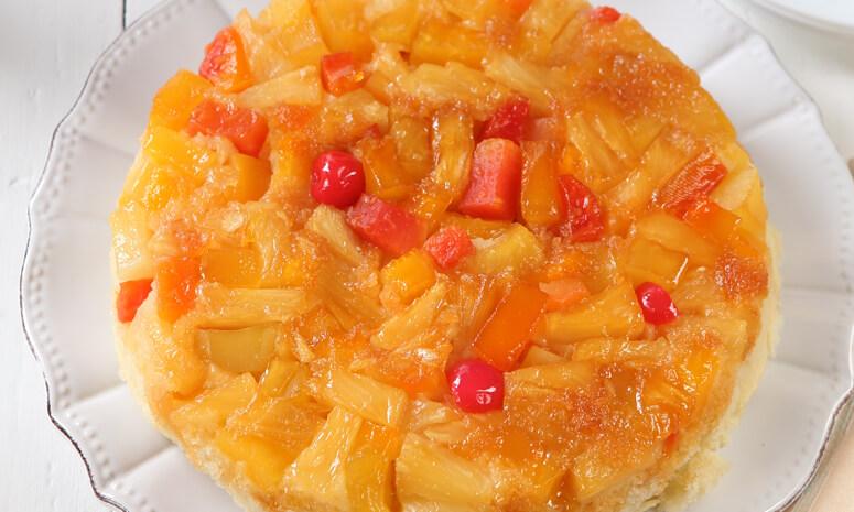 Rice Cooker Upside Down Cake Recipe