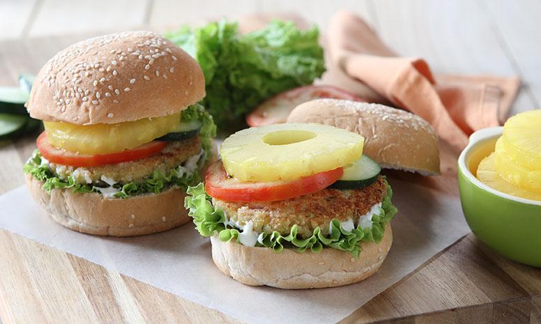 Roasted Chicken Burger Recipe