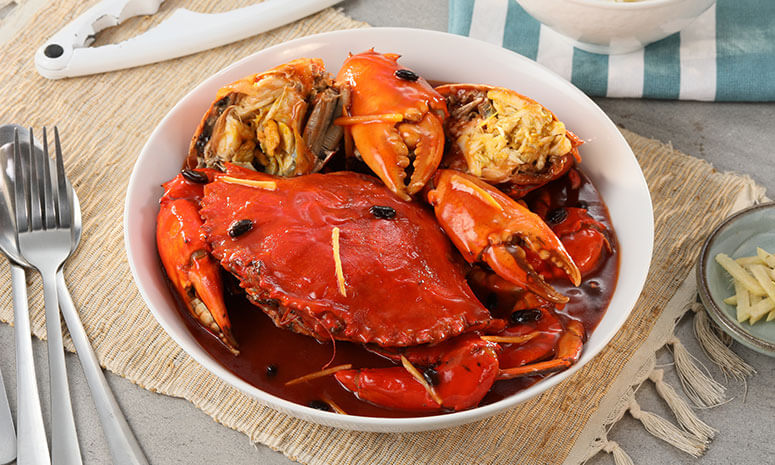 Saucy Fried Crabs Recipe
