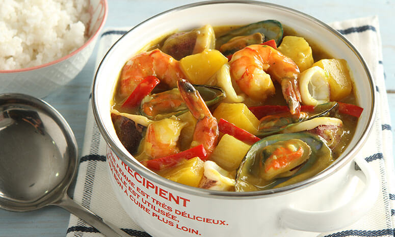 Seafood Curry Recipe
