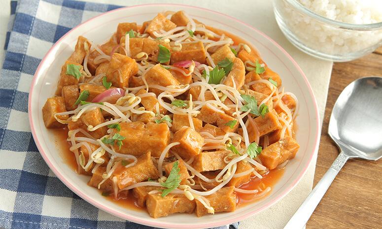 Tofu and Togue Guisado Recipe