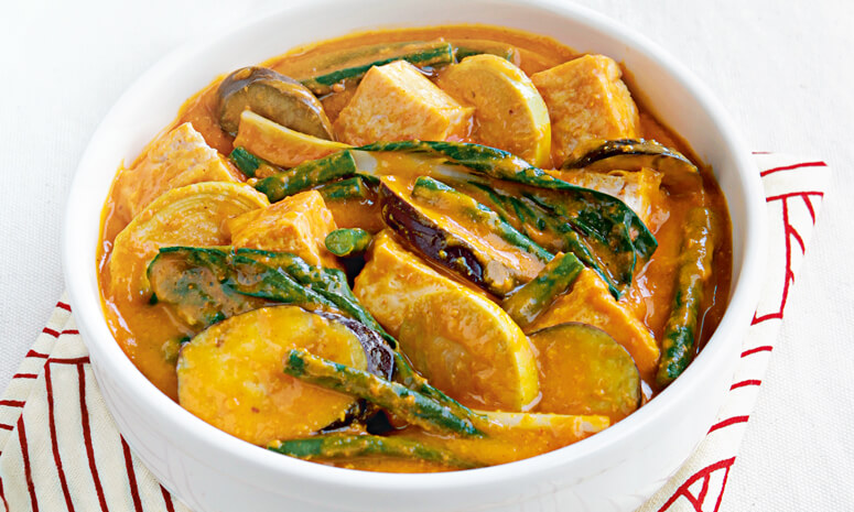 Tofu Vegetable Kare-Kare Recipe