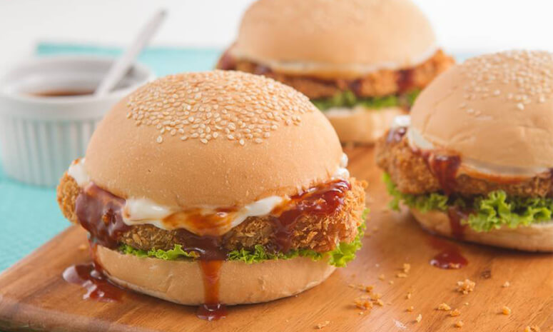 Tonkatsu Burger Recipe