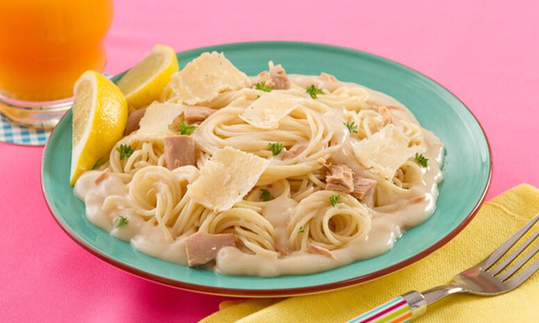 Tuna Carbonara Recipe