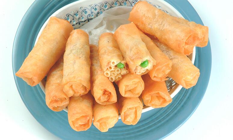 Tuna Macaroni Rolls Recipe