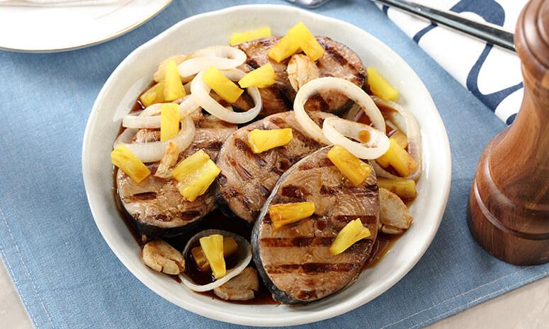 Tuna Piña Steak Recipe