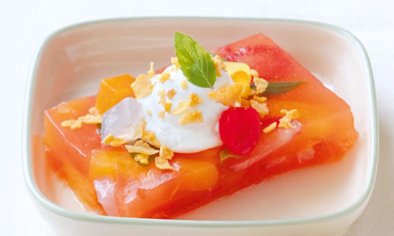 Tutti Fruitti Dessert Recipe