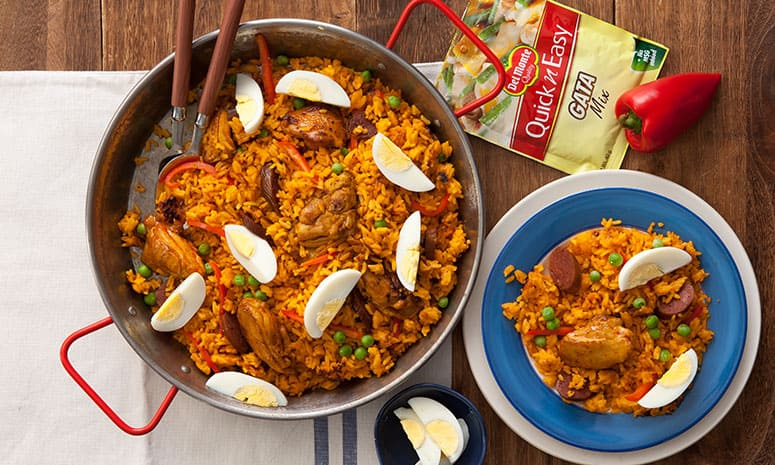 Adobo sa Gata Paella Recipe