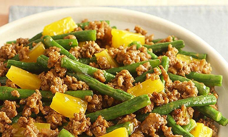 Beef and Sitaw in Pine Hoisin Sauce Recipe