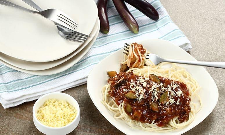 Beef Eggplant Pasta Recipe