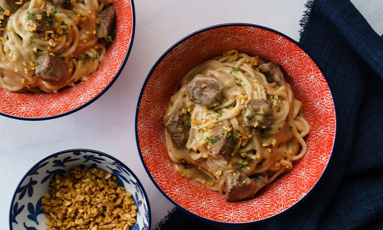 Beef Salpicao Carbonara Recipe