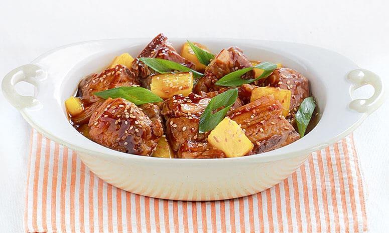 Braised Spareribs with Pineapple Recipe