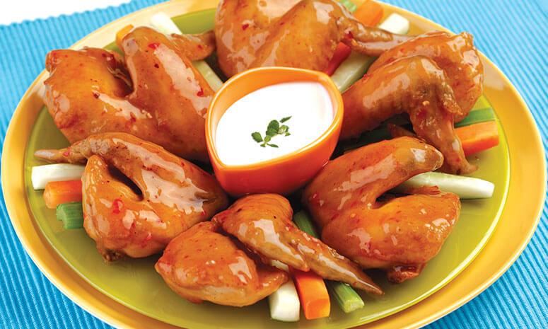 Breaded Chili Wings Recipe