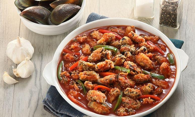 Breaded Tahong Estofado Recipe