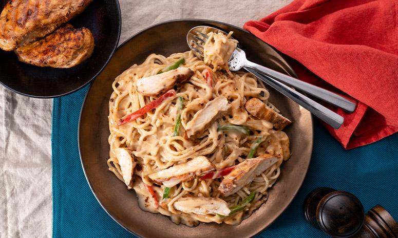 Cajun Chicken Carbonara Recipe