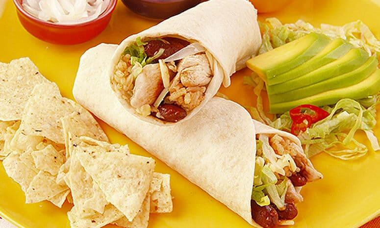 Chicken Burrito Mechado Recipe