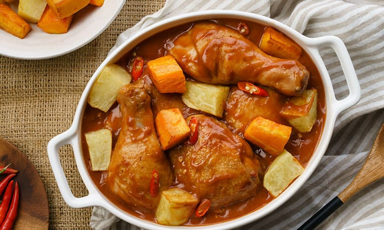 Chicken Caldereta sa Gata Recipe