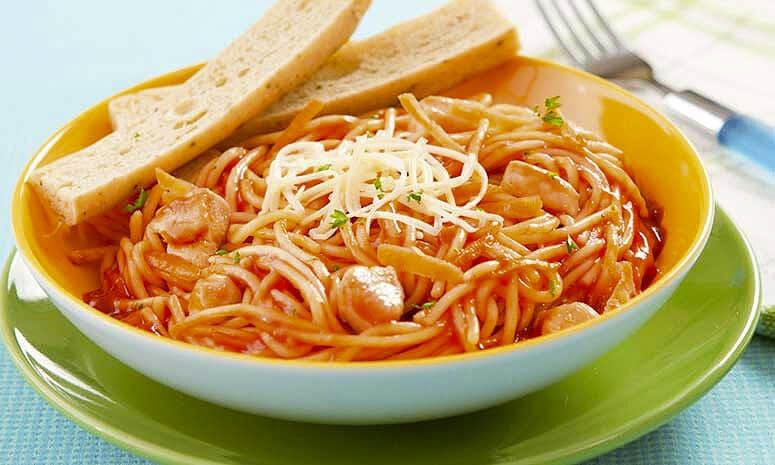 Chicken Carrot Spaghetti Recipe