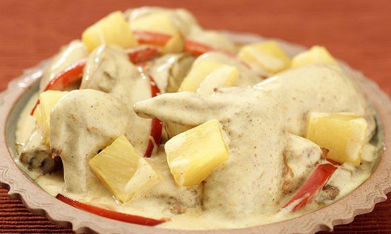 Chicken Pine Curry Recipe