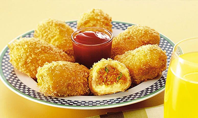 Chicken Potato Croquettes Recipe