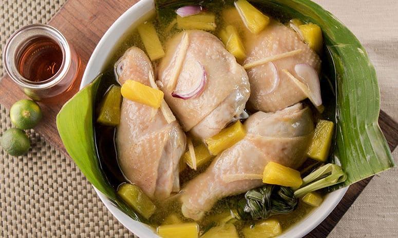 Chicken Tinuom Recipe