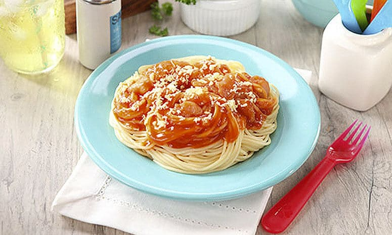 Chicken Tocino Spaghetti Recipe