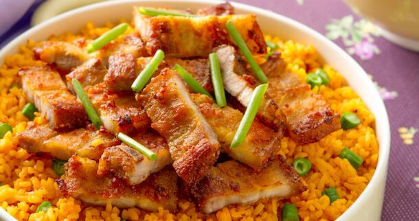 Lechon Kare-Kare Fried Rice Recipe