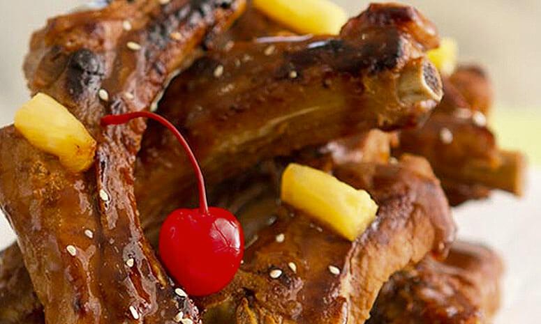 Grilled Sesame Pork Ribs Recipe