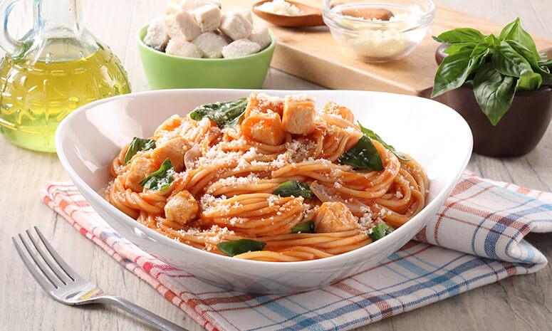 Herbed Fish Fillet Pasta Recipe
