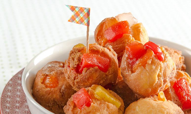 Pancake Balls Recipe