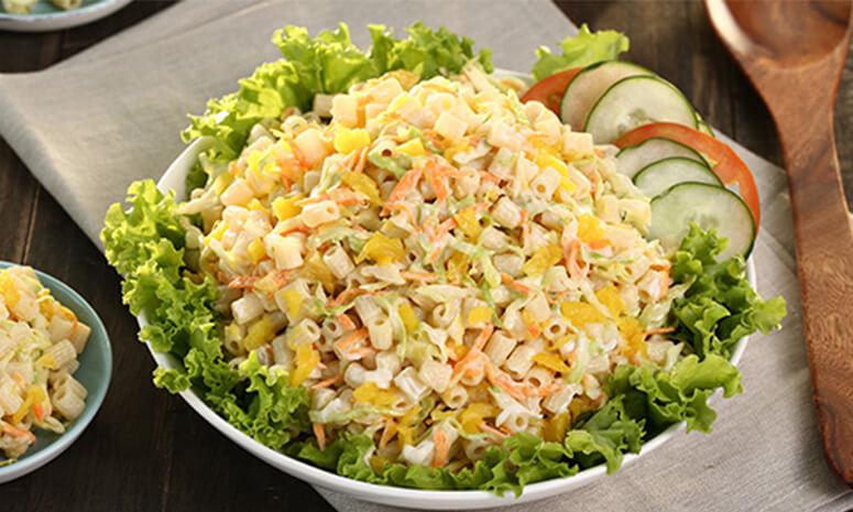 Pasta Veggie Salad Recipe