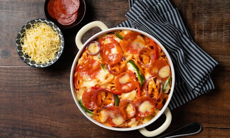 Pepperoni Pizza Pasta Recipe