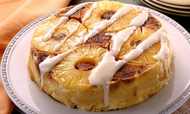 Pineapple Coconut Bread Pudding Recipe