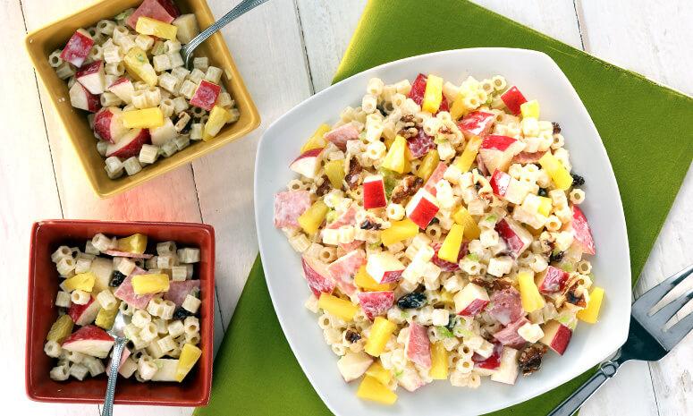 Pine Waldorf Macaroni Salad Recipe