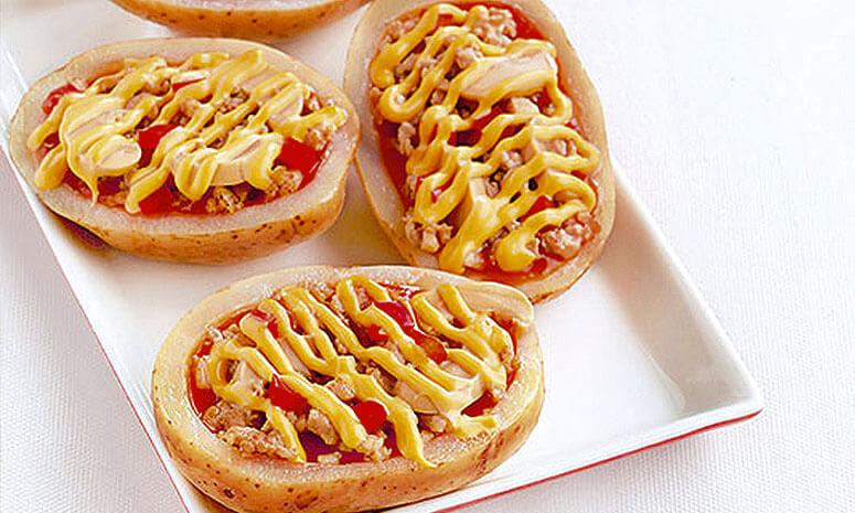 Potato Boat Pizza Recipe