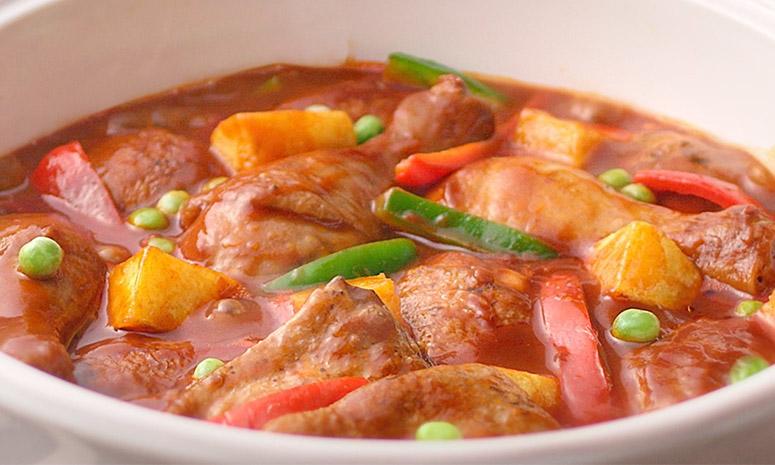 Quick 'n Easy Chicken Caldereta Recipe
