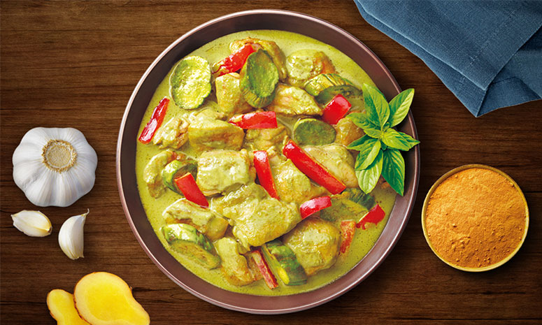 Quick N Easy Green Chicken Curry Recipe
