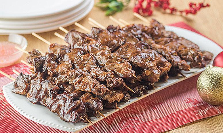 QNE Pork Barbecue On Sticks Recipe
