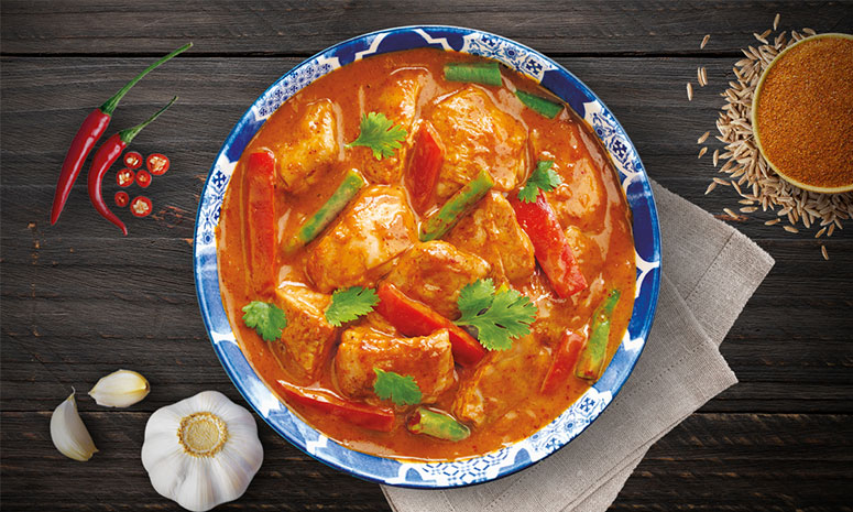 Quick N Easy Red Chicken Curry Recipe