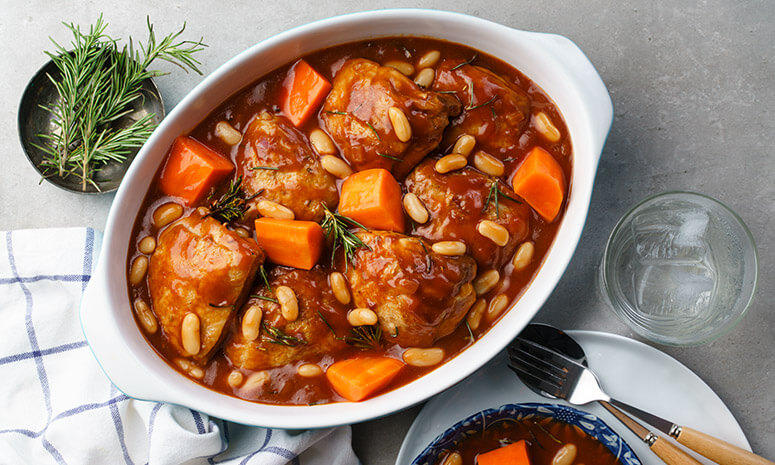 Rosemary Chicken Stew Recipe