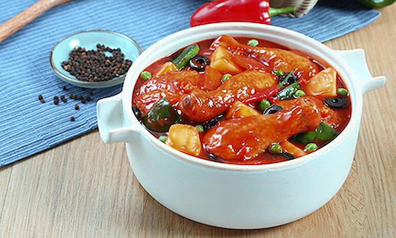 Sweet and Spicy Chicken Caldereta Recipe